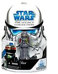 Star Wars The Legacy Collection Build-a-droid: Fx-6