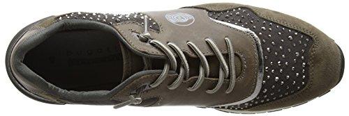 Bugatti - 422285033464, Pantofole Donna Grau (Grey / Metallic)