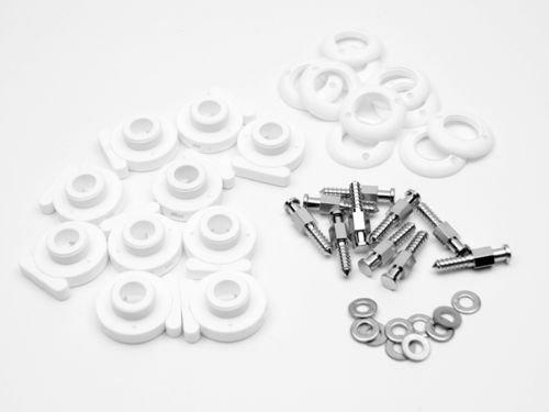 Preisvergleich Produktbild 10 x Minax Schraube Ø 4, 1 + Schnellverschluss