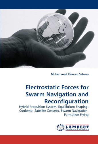 Electrostatic Forces for Swarm Navigation and Reconfiguration: Hybrid Propulsion System, Equilibrium Shaping, Coulomb, Satellite Concept, Swarm Navigation, Formation Flying Hybrid-navigation