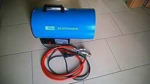 Güde 85004 GGH10 Générateur d'air chaud à gaz 10 kW (Import Allemagne)