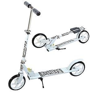 UEnjoy SUNCOO Scooter Roller Kickscooter Klappbar Kinderroller Tretroller Kinderscooter Typ2 Silbern