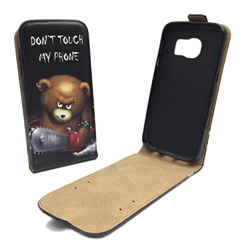 konig-shop-flip-case-cover-for-samsung-galaxy-s7-folding-pu-leather-case-cover-in-flip-style-in-bear