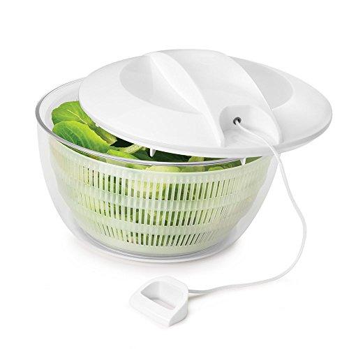 Metaltex 252155 - Centrifugadora para ensaladas, diámetro de 24 centímetros