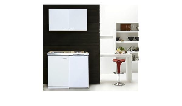 Respekta Miniküche Mit Kühlschrank Pantry 100 : Respekta mk wosc miniküche cm weiß mit