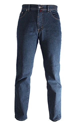 Pierre Cardin DIJON blue black indigo 3231 161.02 - Jeans-Manufaktur Edition Größe W42 / L32