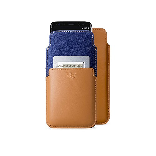 DailyObjects Real Leather Wallet / Case Cover / Pouch For Samsung Galaxy S8