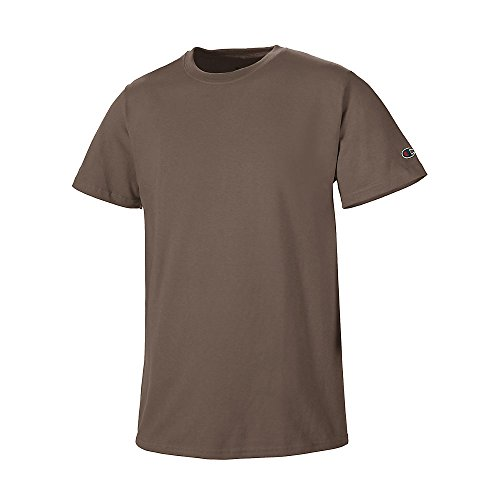 Champion -  T-shirt - Asimmetrico - Uomo Marrone
