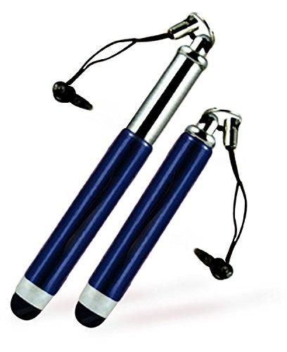 C63®-HTC Desire 626Mini ausziehbarer kapazitiver Stylus Touch Pen-dunkelblau (Einzigartige Htc Desire Telefon Fall)