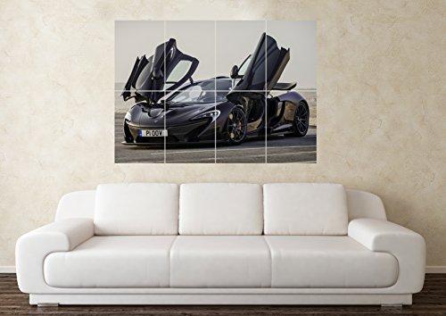 rennwagen-mclaren-p1-sport-auto-poster-kunstdruck