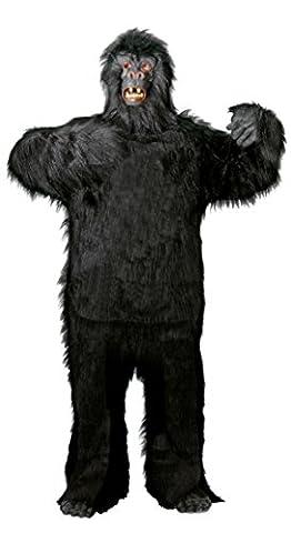 Foxxeo 40088   Deluxe Gorilla Kostüm für Erwachsene Gr. M - XXXL, Größe:XL (Deluxe Gorilla-kostüm)
