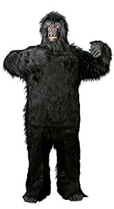 Foxxeo 40088 | Deluxe Gorilla Kostüm für Erwachsene Gr. M - XXXL, Größe:M