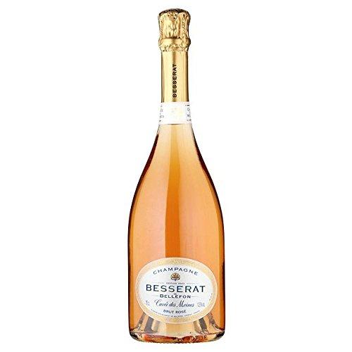 Besserat de Bellefon, Cuvee des Moines Brut Rose Champagne NV 75cl - (Packung mit 6)