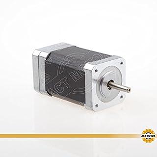 ACT Motor GmbH 1PC BLDC Motor 42BLF03 Nema17 79mm 0.188Nm 78W 4000RPM Round Shaft Ø5mm CNC Machine Robot Automation Scanner 3D-Printer Carver Machine