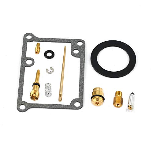 CHOULI New Carburetor/Carb Rebuild Repair Part Kit for Yamaha Blaster 200 YFS200 Black 2006 Factory Radio