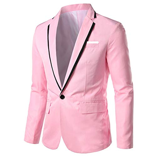 Amphia - Herren Freizeitjacke Blazer,Stilvolle beiläufige Feste Blazer-Geschäfts-Hochzeitsfest-Outwear-Mantel-Klage-Oberseiten der Männer