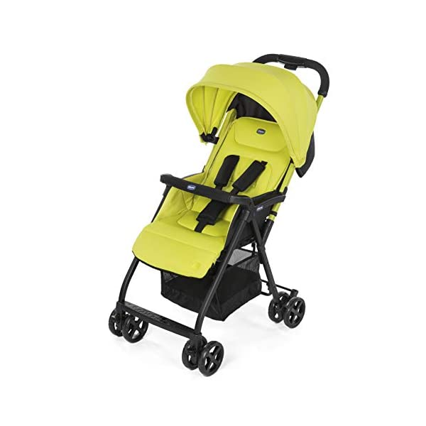 Chicco Buggy Ohlala, Citrus  Can even be lifted with one finger. pure comfort and style. The backrest is adjustable to the flat reclining position. adjustable footrest. With continuous slide for a smooth ride and sliding with only 1 hand. 1