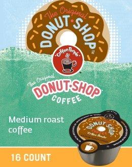 The Original Donut Shop Coffee Vue Packs for Keurig VUE Brewers (32 VUE Packs) by Donut Shop Classics