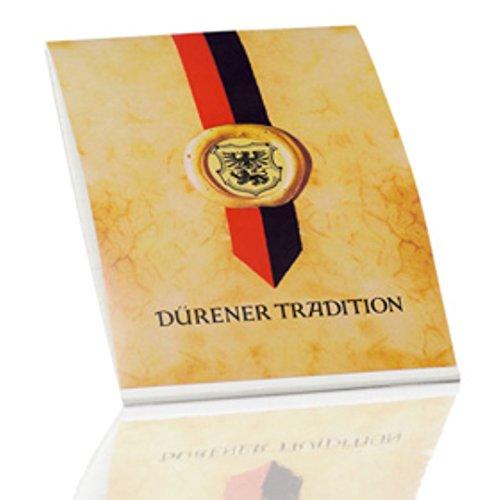 Rössler Papier - Dürener Tradition - Briefblock blanko (50 Blatt, A5) weiß satiniert