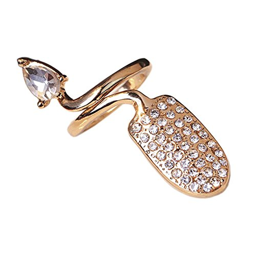 Nail Art élégant Ongle Anneau Protection Nail ringent style, Golden