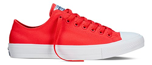 Converse Sneakers Chuck Taylor All Star II C151123, Scarpe da Ginnastica Basse Unisex – Adulto, Various-Availabile in Size Selection Box Rosso