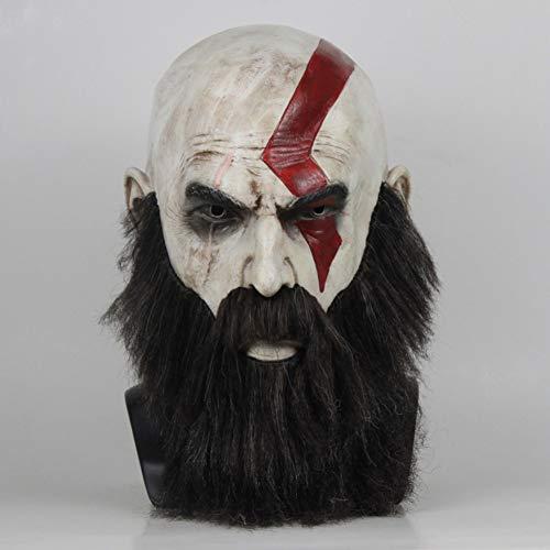 WZMHBMJ Maske Halloween Cosplay Kostüm Mit Schnurrbart Weihnachtsfeier Ball Requisiten (Weihnachtsfeier Kostüm Themen)