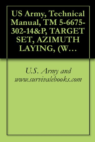 US Army, Technical Manual, TM 5-6675-302-14&P, TARGET SET, AZIMUTH LAYING, (WILD HEERBRUGG MODEL 242406), (NSN 6675-00-065-7502), AND, (MODEL USATS-79) (English Edition)