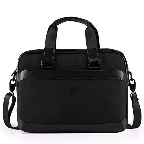 BULAGE Taschen Tragbar Schulter- Messenger Dokumente Business Männer Lässig Computer Praktisch Stilvoll OneColor