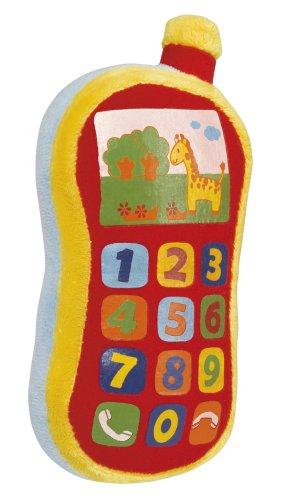 SIMBA TOYS 104012745 ABC - TELEFONO SUAVE CON SONIDOS