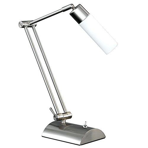 LED 3 Watt Tischleuchte Tisch Lampe Schalter beweglich Büro Schreibtisch Wohnzimmer