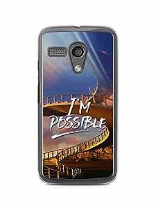 YuBingo I'm Possible Designer Mobile Case Back Cover for Motorola G