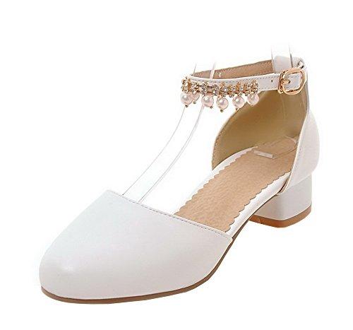 9ba78a931c AgeeMi Shoes Donna Tacco Basso Punta Tonda Luccichio usato Spedito ovunque  in Italia