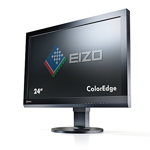 Eizo CS240-BK 61 cm (24 Zoll) LED-Monitor (VGA, DVI, HDMI, 7,7ms Reaktionszeit) schwarz