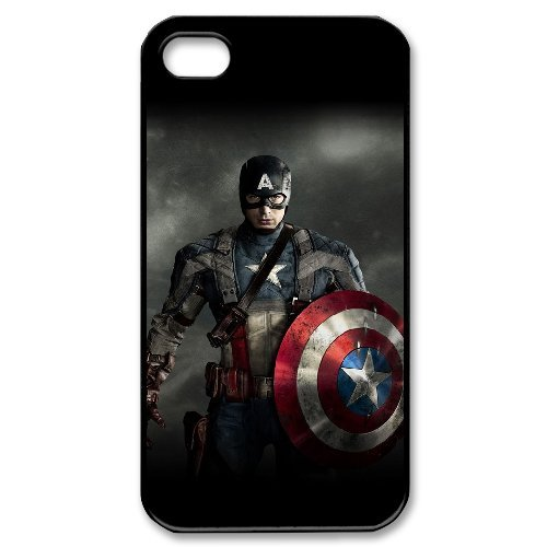 LP-LG Phone Case Of Captain America For Iphone 4/4s [Pattern-6] Pattern-1