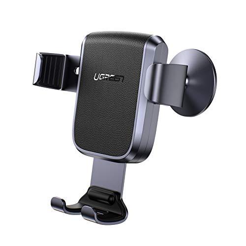 UGREEN Auto Halterung Handy Autohalterung Schwerkraft Handyhalter Armaturenbrett KFZ Halterung Unterstützt für iPhone 11/11 Pro / 11 Pro Max/XS/Samsung Galaxy S10 / Huawei Mate 30 Max 7 Zoll