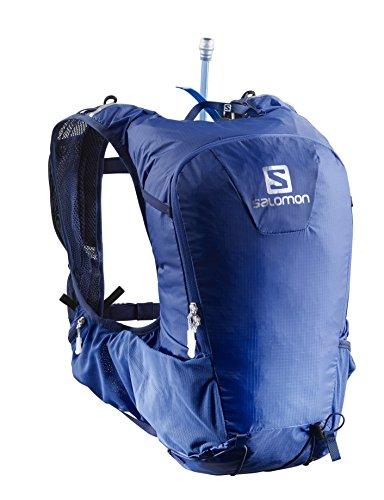 Salomon Leichter Rucksack (15L) fürs Laufen, Hiken oder Radfahren, 40 x 18 x 17 cm, SKIN PRO 15 SET, Blau, L40136600 -