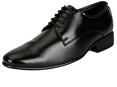 Bata Men's Formal Lace up shoes (6UK/INDIA (40EU), Black)
