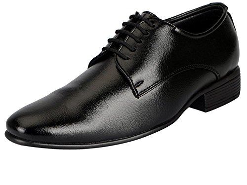 Bata Men's Formal Lace up shoes (7UK/INDIA (41EU), Black)