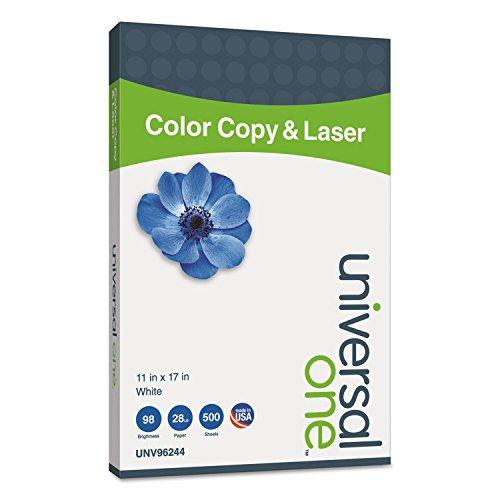 Preisvergleich Produktbild Color Copy/Laser Paper, 98 Brightness, 28lb, 11 x 17, White, 500 Sheets/Ream