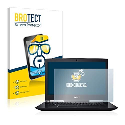 BROTECT Schutzfolie kompatibel mit Acer Aspire V 17 Nitro klare Bildschirmschutz-Folie