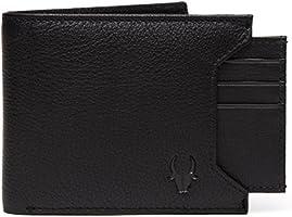 WildHorn® Old River Black Leather Men's Wallet