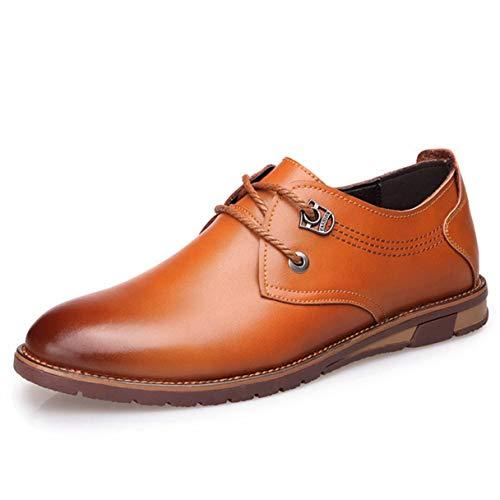 Jessie Kelly Herren Business-Schuh Freizeitmode Schnür-Oxford-Schuhe Gore Moc
