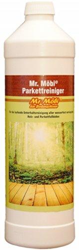 Mr.Möbi© Limpiador para parquet, 1 litro   ¡Limpieza profesional!