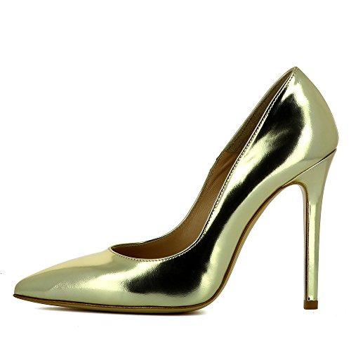 Evita Shoes Mia, Scarpe col tacco donna Gold