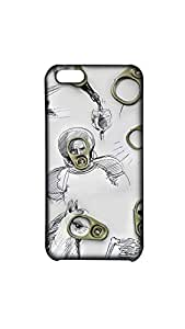 Beautiful Scratch Drawing With Opner Mobile Back Cover/Case For Apple iPhone 5C