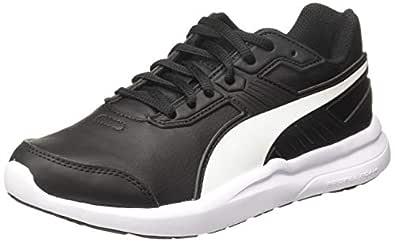 Puma Unisex Adult Escaper Sl Black White Running Shoes-3 UK (35.5 EU) (4 US) (36442201_3)