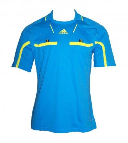 Adidas Referee Trikot, KA, cyan/gelb, Gr. XL