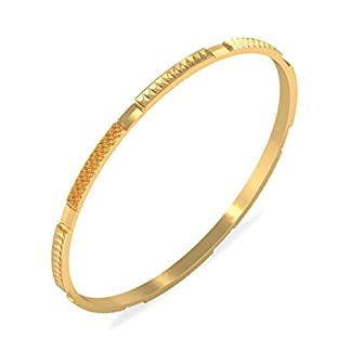 BlueStone 18k (750) Yellow Gold Sanam Bangle