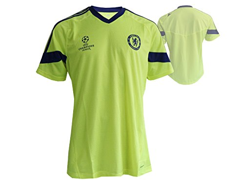 2014-15 Chelsea Adidas EU Training Shirt (Electricity) - Adidas Chelsea Trainings Trikot