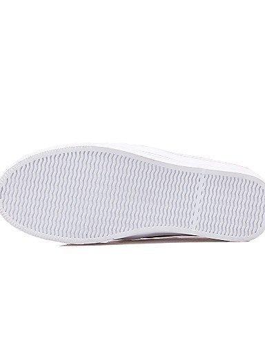 ShangYi Scarpe Donna - Mocassini - Formale / Casual - Comoda - Piatto - Tulle / Finta pelle - Rosa / Viola / Bianco White